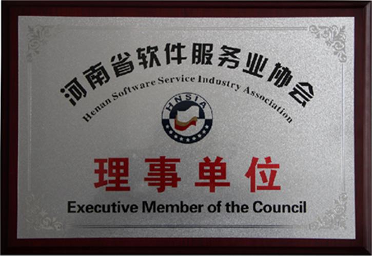 河南省软件服务理事单位
